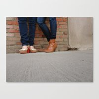 heels Canvas Prints featuring Heels by Shayna Andrus
