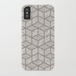 Kenna (Light Grey) iPhone Case