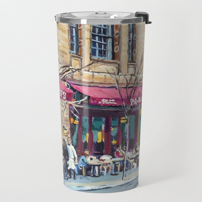 Parc Bistro, Philadelphia, Rittenhouse Square Travel Mug