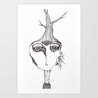 Berlin tree Art Print