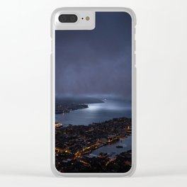 Bergen At Night Clear iPhone Case