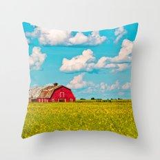 Living Alberta Throw Pillow