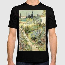 Vincent Van Gogh : Garden at Arles T-shirt