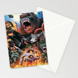 Godzilla-King Kong 03 Stationery Cards