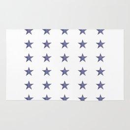 50 Blue Stars Rug