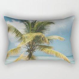 Palm Trees Punta Cana Rectangular Pillow