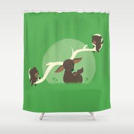 Teeter Totter Shower Curtain