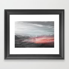Painted Mirrors Framed Art Print