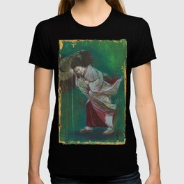 The Geisha on the Washing Line T-shirt