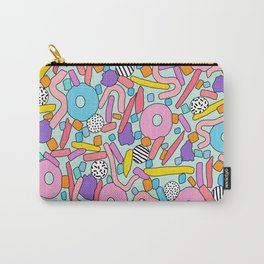 CIRCLES IN MOTION - candy Carry-All Pouch