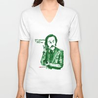 anchorman V-neck T-shirts featuring Anchorman: 60% of the Time by Red Misery