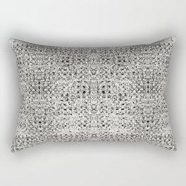 Aztek Gray Rectangular Pillow