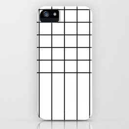 Simple Linear Pattern iPhone Case