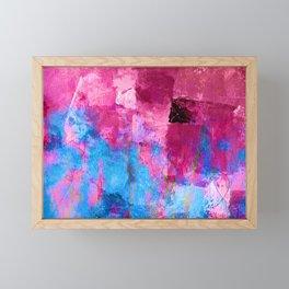 Lavender Field Framed Mini Art Print