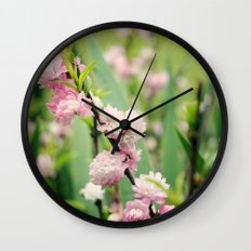 The Best Things in Life are Pink Wall Clock