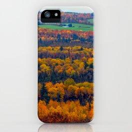 Katahdin Foliage (6) iPhone Case