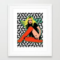 britney spears Framed Art Prints featuring Britney spears by imalbertgrr