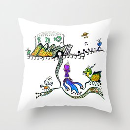 shopping on alpha BIX Throw Pillow