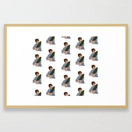 Michael Cera & the Magical Cactus Framed Art Print