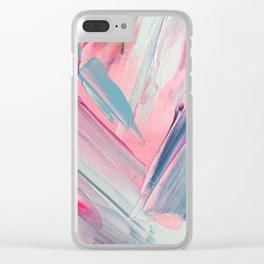 Soft-spoken Clear iPhone Case