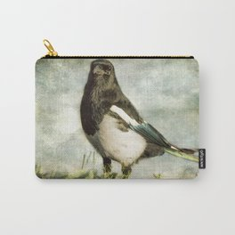 Message from the Magpie Carry-All Pouch