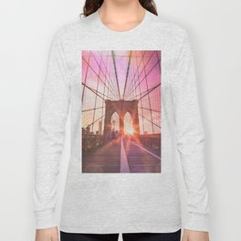 NYC Brooklyn Bridge Long Sleeve T-shirt