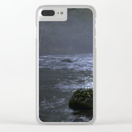 Fog on the Mckenzie River Clear iPhone Case