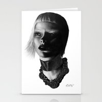 versace Stationery Cards featuring Versace InSanity. by BrittanyJanet Illustration & Photography