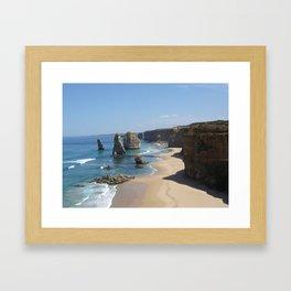 Shipwreck Coast Framed Art Print