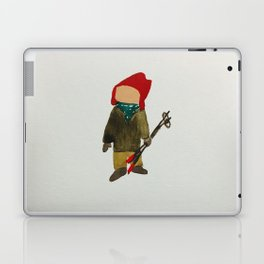 Toddies Winter Snow Days Toddler Skier Boarder Laptop & iPad Skin
