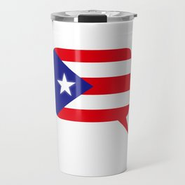 PR Voice - Puerto Rico Pride: Puerto Rican Travel Mug