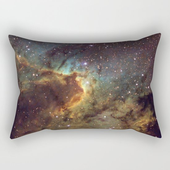 Cave Nebula SH2-155 Rectangular Pillow