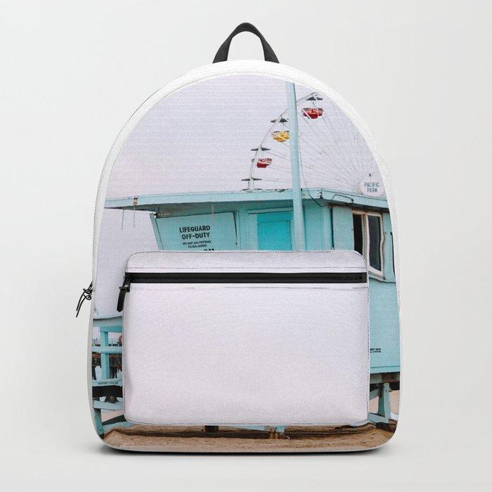 Santa Monica Pier Lifeguard Backpack