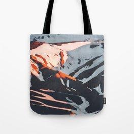 PNW Glacier Hike Tote Bag