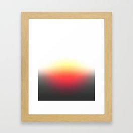 Sunset Ombre Framed Art Print