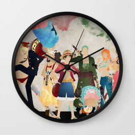 Straw Hat Pirates - One Piece Wall Clock