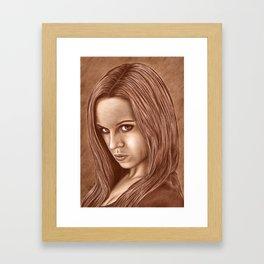 Watch it! Framed Art Print