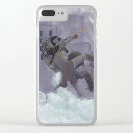 Night Heist Clear iPhone Case
