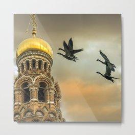 Take me to the Golden Domes Metal Print