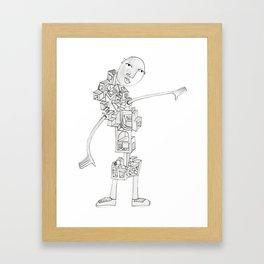 Stair Body [Jordan E. Eismont] Framed Art Print