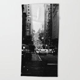 San Francisco Street - SF 082 Beach Towel