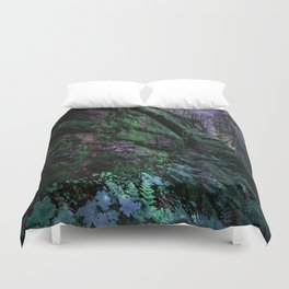 Enchanted Forest Wall (Where the Fairies Dwell) Duvet Cover
