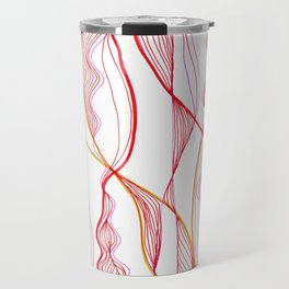 Red Steamer Travel Mug