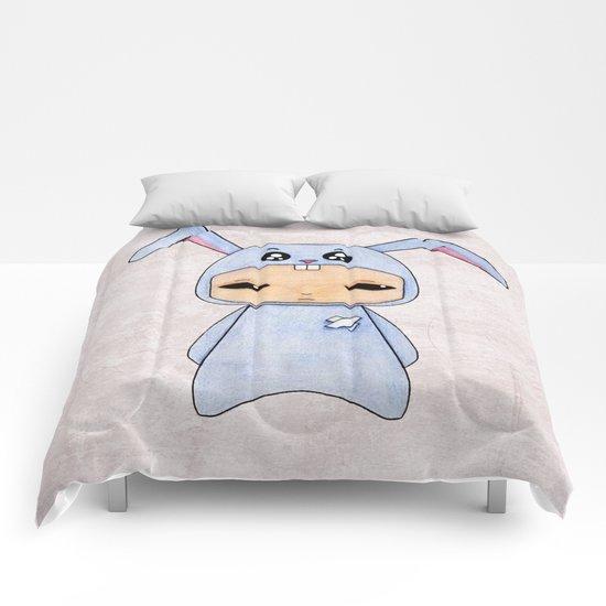 A Boy - Rabbit Comforters