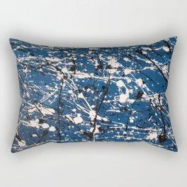 Blue Carnage Rectangular Pillow