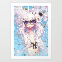 barachan Art Prints featuring fixation by barachan