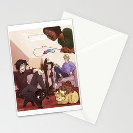 Kitten Attack! Stationery Cards