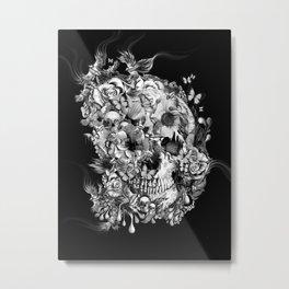 Snow birds Metal Print
