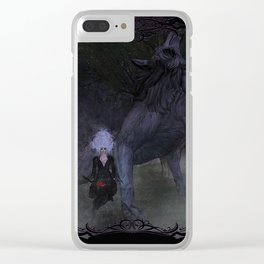 Lycan Howl Clear iPhone Case