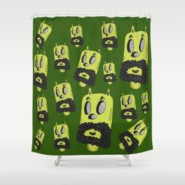 Barbudo Shower Curtain